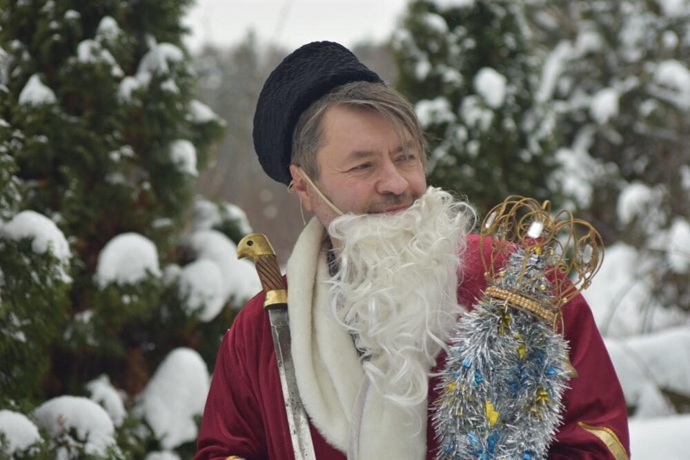 Дед Мороз в Медеэлектролитчик