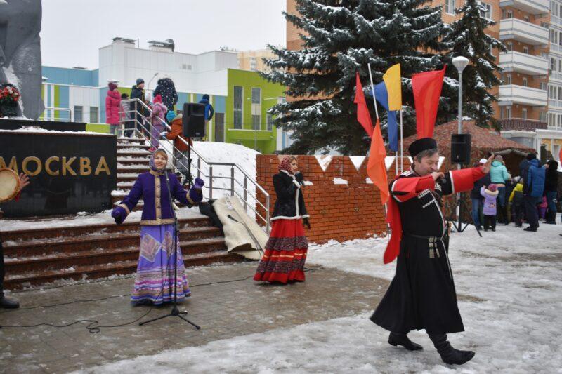 казаки на патриотическом мероприятии