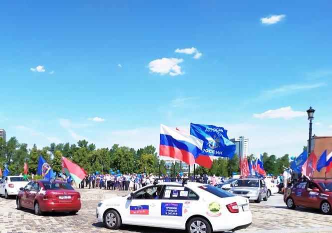 Автопробег Москва — Минск